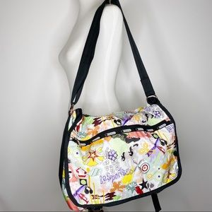 LeSportsac Large Messenger Crossbody Bag